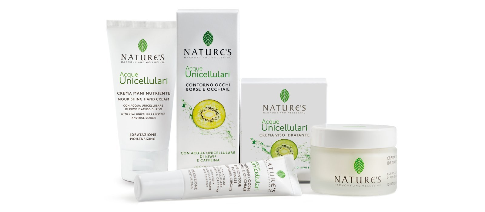 Idratazione Acque Unicellulari Nature's