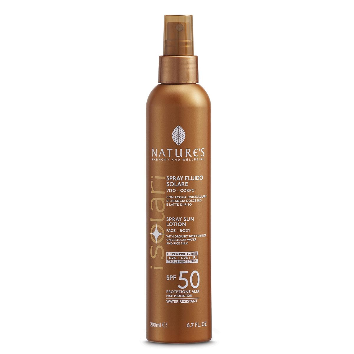 Spray Fluido Solare SPF50